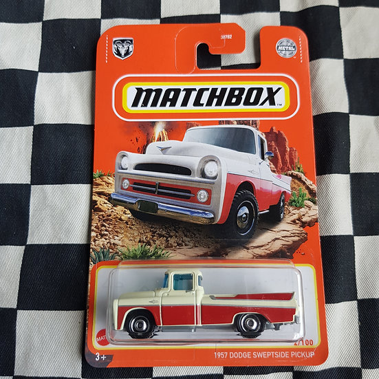 Matchbox 2021 1957 Dodge Sweptside Pickup Truck