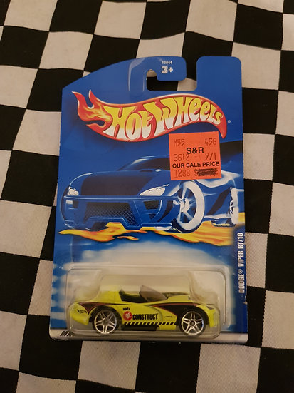 Hot Wheels 2001 Dodge Viper RT10
