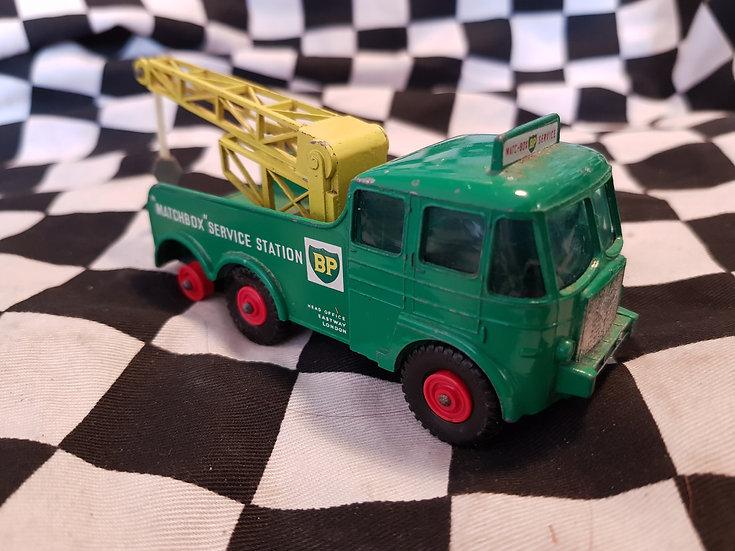 Vintage Lesney Matchbox King Size BP Foden Breakdown Tractor Truck Loose