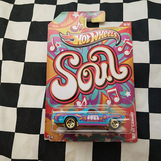 Hot Wheels Jukebox Soul 68 El Camino