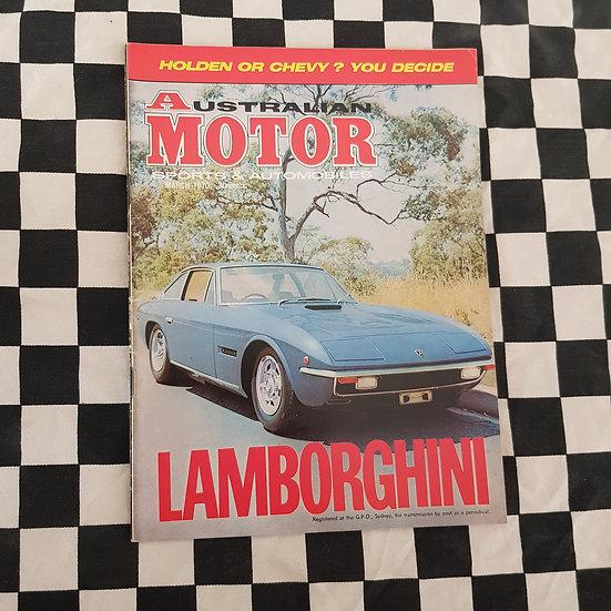 Australian Motor Sports & Automobiles March 1970