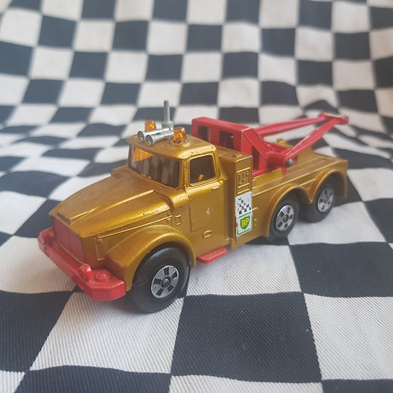 Vintage Loose Matchbox Superkings Scammell Heavy Wreck Truck