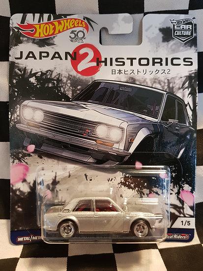 Hotwheels Car Culture Japan Historic's 2 DATSUN BLUEBIRD 510