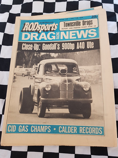 Australian Rodsports Drag Racing News #158