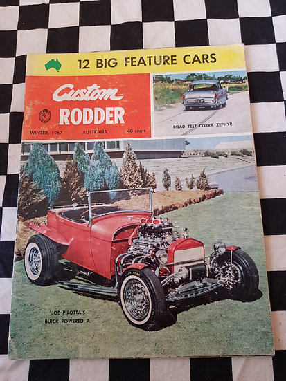 CUSTOM RODDER magazine #1 winter 1967
