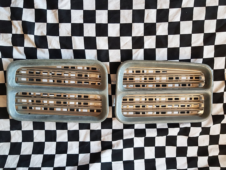 Wolesley Grill Pieces Unplated (as used in Kustom Early Holdens)