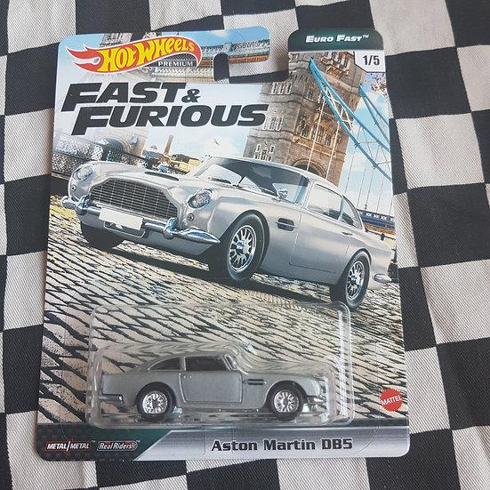 Hot Wheels Premium Fast & Furious Euro Fast Aston Martin DB5