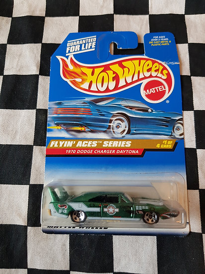 Hot Wheels 1997 Flyin Aces 1970 Dodge Charger Daytona