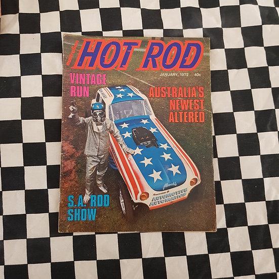 Australian Hot Rod Magazine January 1972