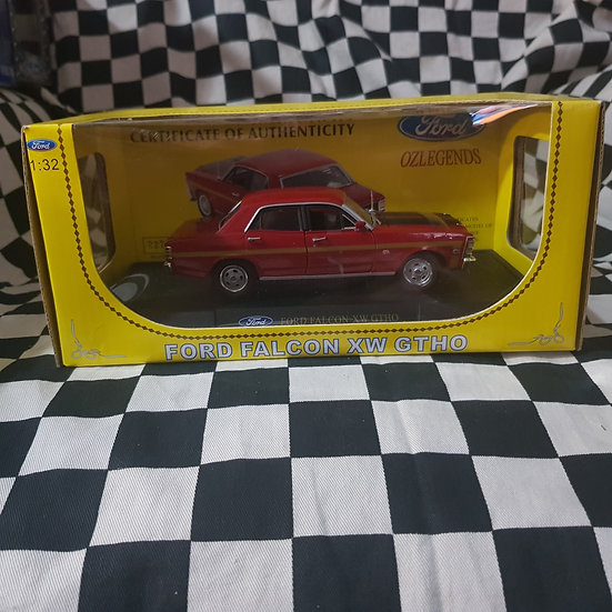 Oz Legends 1:32 Ford Falcon XW GT HO Candy Apple Red