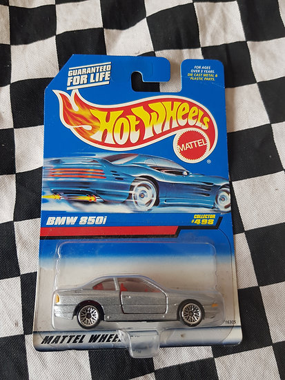Hot Wheels 1997 BMW 850i Silver