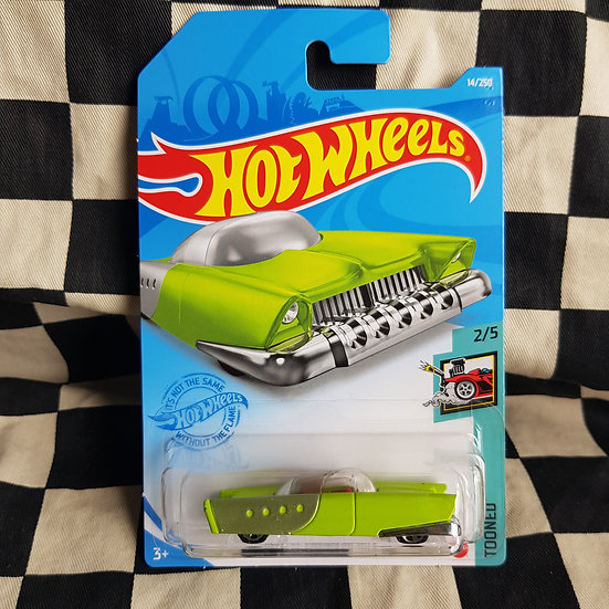Hot Wheels 2021 Tooned Mattel Dream Mobile 50's Atomic Space  Bubble Car Ed Roth