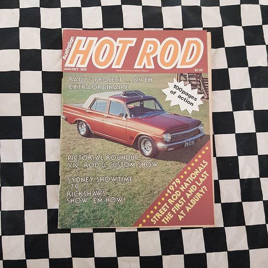 Australian Hot Rod Magazine Aug/Oct 1979