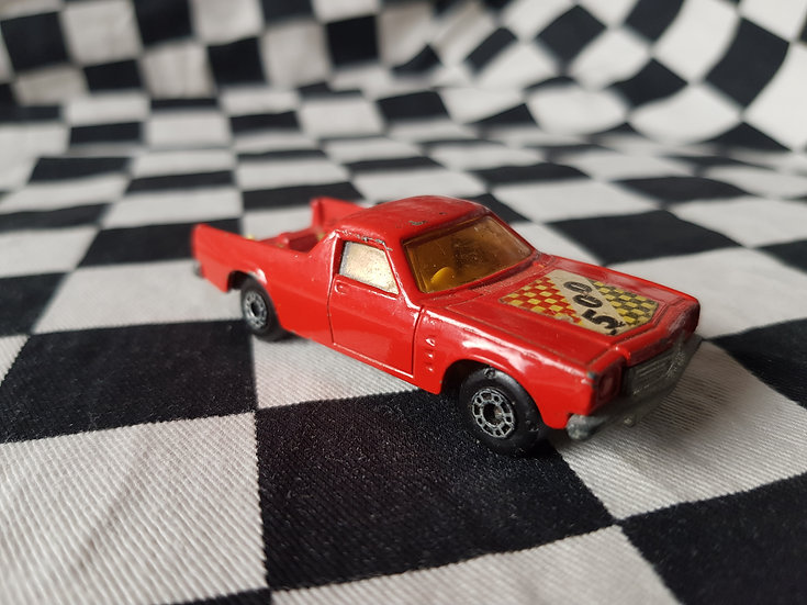 Matchbox HOLDEN Ute HQ HJ HX HZ WB Loose Red 500