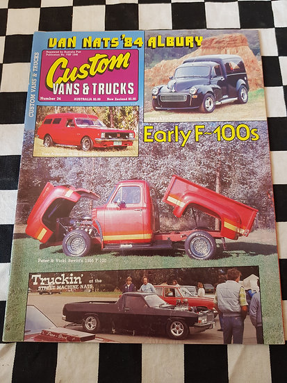 CUSTOM VANS & TRUCKS magazine #34