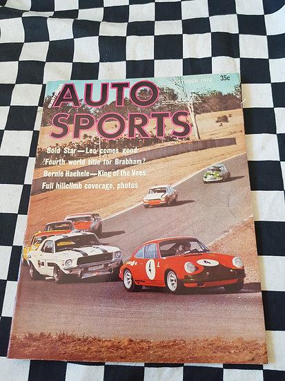 Australian Auto Sports Magazine October 1970
