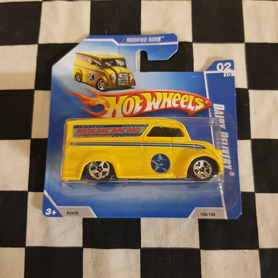 Hot Wheels 2009 Modified Rides Redline Racing Dairy Delivery Short Card