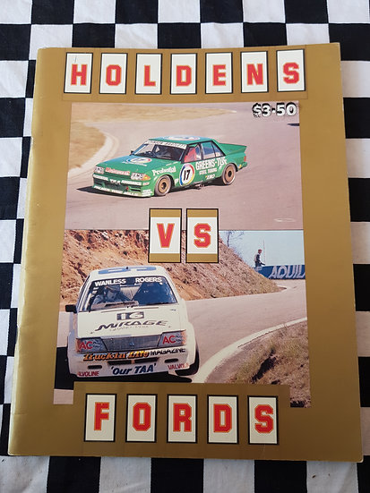 HOLDENS vs FORDS magazine (early 80s)
