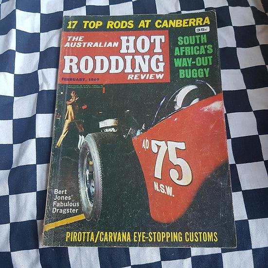 Australian Hot Rodding Review Feb 1969