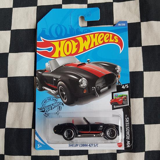 Hot Wheels 2020 Roadsters Shelby Cobra 427 S/C Black
