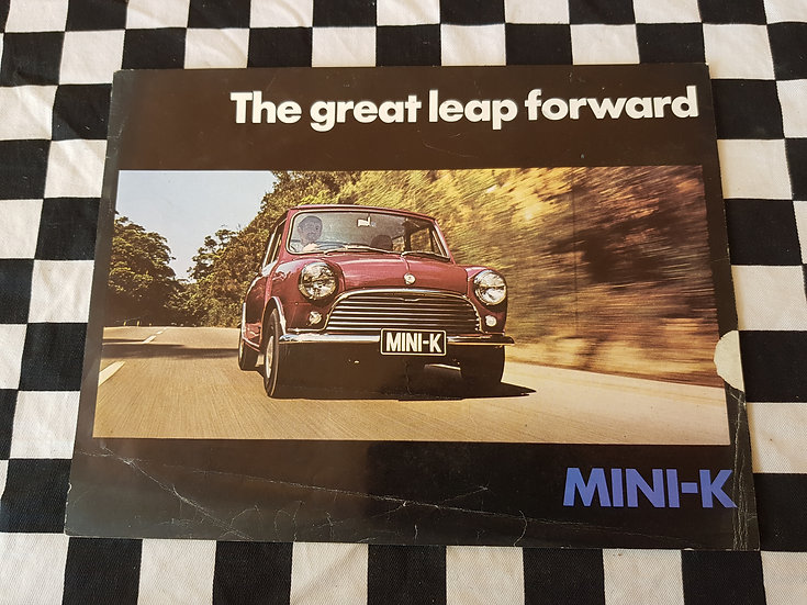 MINI K single page brochure