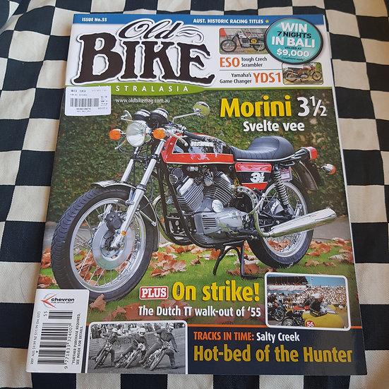 Old Bike Magazine #55 Vintage/ Classic Motorcycles