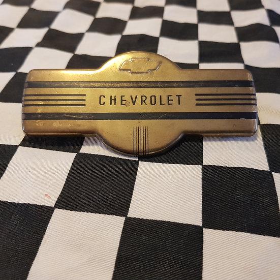 1937 Chevrolet Brass Badge