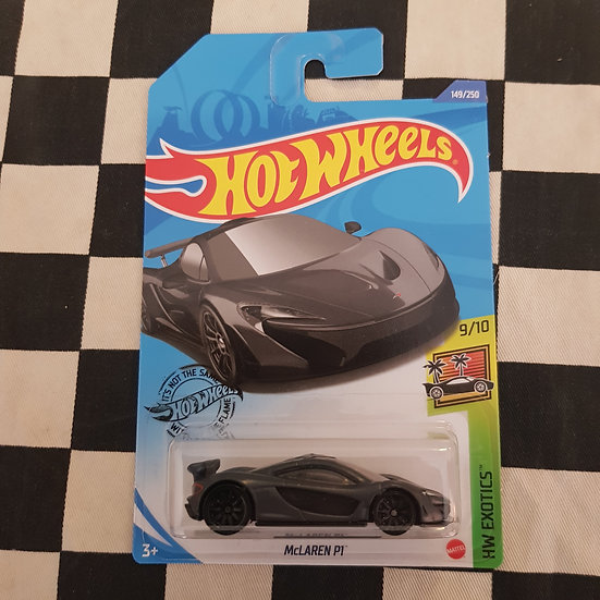Hot Wheels 2020 Exotics Mclaren P1 Grey