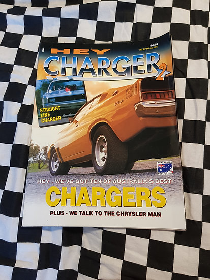 HEY CHARGER #2 magazine VHTF