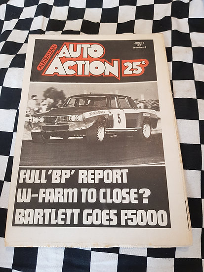 Australian Auto Action Magazine #8 June 2 1971