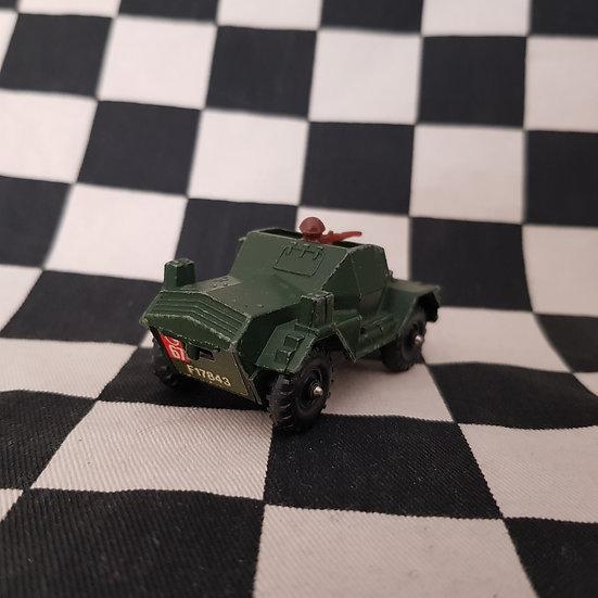 Vintage Loose Corgi Juniors Daimler Scout Car