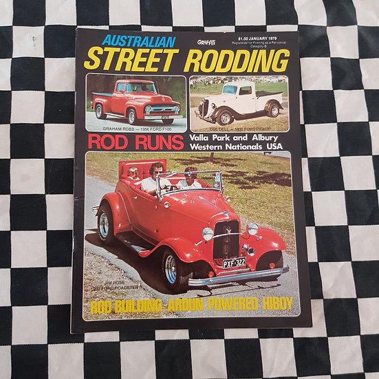 Australian Street Rodding #8 January 1979