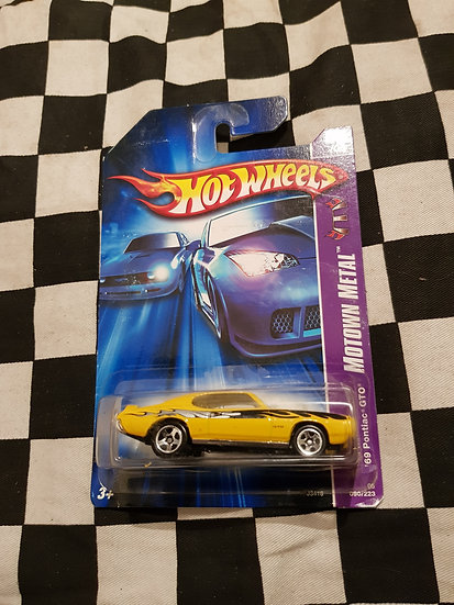 Hot Wheels 2005 Motown Metal 69 Pontiac GTO