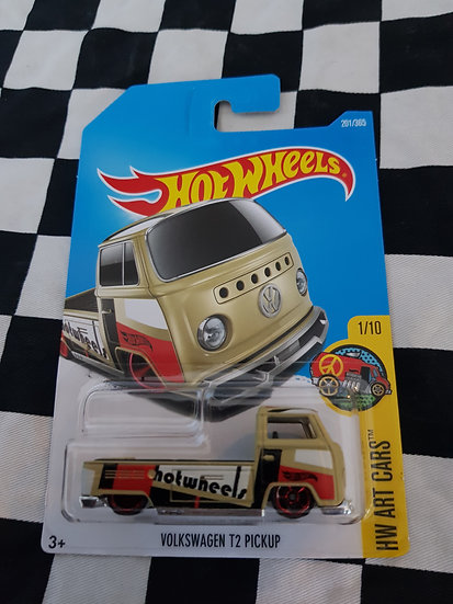 Hot Wheels Volkswagen type 2 Pickup (olive) 1st edition