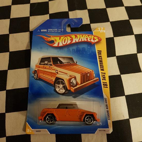 Hot Wheels 2009 First Edition Volkswagen Type 181 Thing Orange