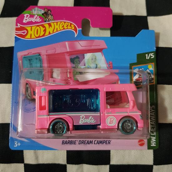 Hot Wheels 2021 Getaways Barbie Dream Camper  Short Card