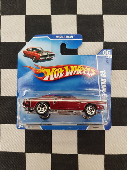 Hot Wheels 2009 Muscle Mania 69 Dodge Charger Red