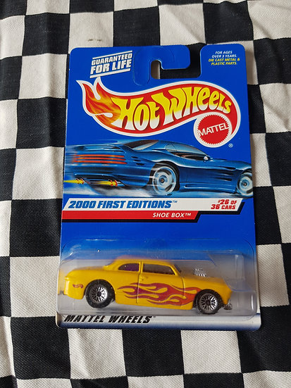 Hot Wheels 2000 First Editions Shoe Box (Small Lace Wheel Variation) 1950 Ford