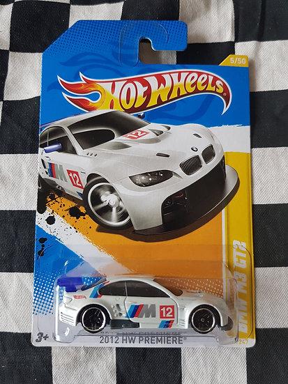 Hotwheels 2012 First Editions BMW M3 GT2 VHTF