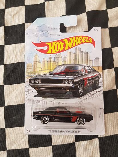 Hot Wheels 2018 Muscle Cars Series 5/6 70 Dodge Hemi Challenger