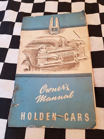Holden Fj Owner Manual