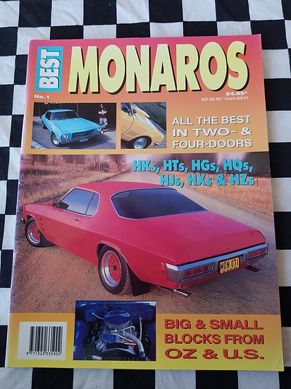 BEST MONAROS #1 magazine