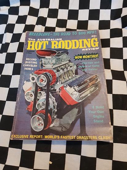 Australian Hot Rodding Review March 1966