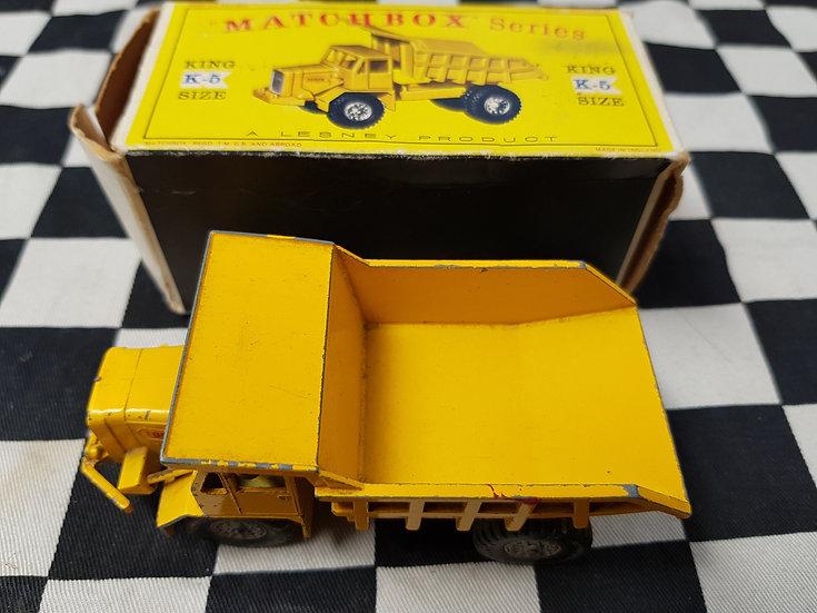 Matchbox K5 King Size Foden Dumper Truck