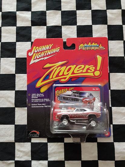 Johnny Lightning Zingers 69 Chevy Camaro Flared Up