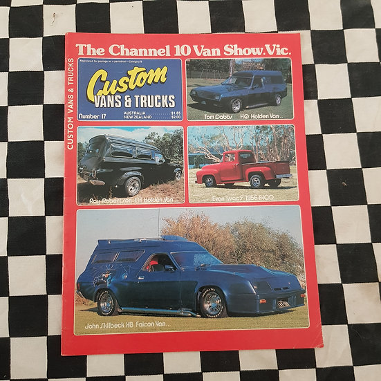 Custom Vans & Trucks Magazine #17