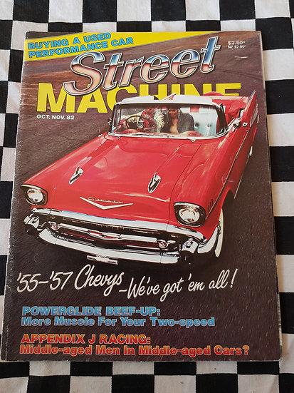 STREET MACHINE issue #7 oct nov 82