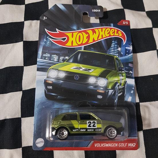 Hot Wheels 2020 Themed Volkswagen Golf MK2 Green