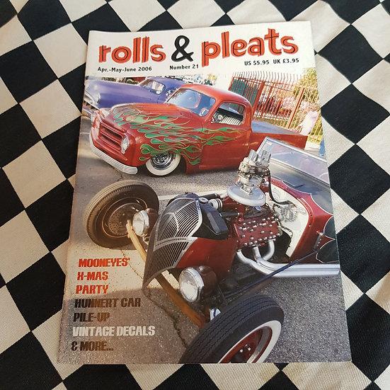 Rolls & Pleats #21 Traditional Hot Rod Magazine