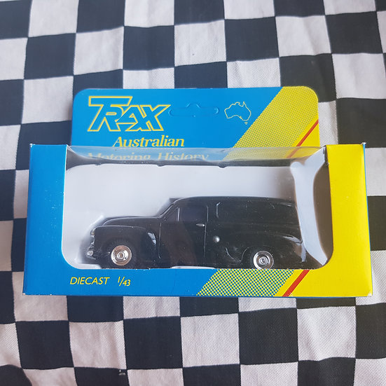 Trax 1:43 FJ Holden Van Black